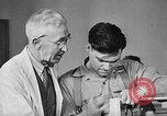 Image of Canadian World War 2 veterans learning trades Toronto Ontario Canada, 1945, second 8 stock footage video 65675053385