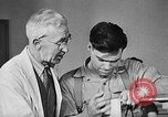 Image of Canadian World War 2 veterans learning trades Toronto Ontario Canada, 1945, second 9 stock footage video 65675053385