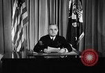 Image of President Truman announces German surrender on VE Day United States USA, 1945, second 6 stock footage video 65675053386