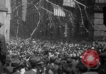 Image of President Truman announces German surrender on VE Day United States USA, 1945, second 52 stock footage video 65675053386