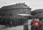 Image of German soldiers demobilized after surrender Germany, 1945, second 9 stock footage video 65675053400
