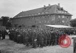 Image of German soldiers demobilized after surrender Germany, 1945, second 10 stock footage video 65675053400