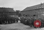Image of German soldiers demobilized after surrender Germany, 1945, second 12 stock footage video 65675053400