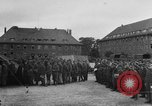 Image of German soldiers demobilized after surrender Germany, 1945, second 13 stock footage video 65675053400