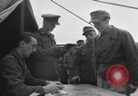 Image of German soldiers demobilized after surrender Germany, 1945, second 17 stock footage video 65675053400