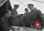 Image of German soldiers demobilized after surrender Germany, 1945, second 18 stock footage video 65675053400