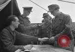 Image of German soldiers demobilized after surrender Germany, 1945, second 19 stock footage video 65675053400