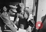 Image of German soldiers demobilized after surrender Germany, 1945, second 20 stock footage video 65675053400