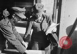 Image of German soldiers demobilized after surrender Germany, 1945, second 21 stock footage video 65675053400