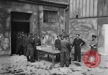 Image of German soldiers demobilized after surrender Germany, 1945, second 28 stock footage video 65675053400