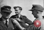 Image of German soldiers demobilized after surrender Germany, 1945, second 30 stock footage video 65675053400