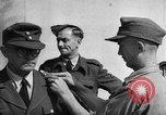 Image of German soldiers demobilized after surrender Germany, 1945, second 31 stock footage video 65675053400