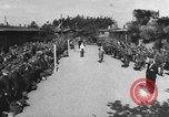 Image of German soldiers demobilized after surrender Germany, 1945, second 40 stock footage video 65675053400
