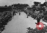 Image of German soldiers demobilized after surrender Germany, 1945, second 42 stock footage video 65675053400