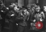 Image of German soldiers demobilized after surrender Germany, 1945, second 43 stock footage video 65675053400