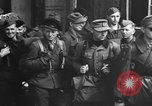 Image of German soldiers demobilized after surrender Germany, 1945, second 44 stock footage video 65675053400