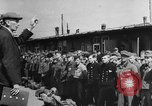 Image of German soldiers demobilized after surrender Germany, 1945, second 46 stock footage video 65675053400