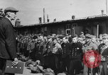 Image of German soldiers demobilized after surrender Germany, 1945, second 47 stock footage video 65675053400