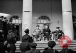 Image of Franklin Roosevelt at Tehran Conference Tehran Iran, 1943, second 8 stock footage video 65675053420