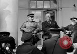 Image of Franklin Roosevelt at Tehran Conference Tehran Iran, 1943, second 13 stock footage video 65675053420