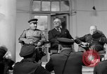 Image of Franklin Roosevelt at Tehran Conference Tehran Iran, 1943, second 14 stock footage video 65675053420