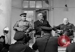 Image of Franklin Roosevelt at Tehran Conference Tehran Iran, 1943, second 15 stock footage video 65675053420