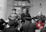 Image of Franklin Roosevelt at Tehran Conference Tehran Iran, 1943, second 16 stock footage video 65675053420