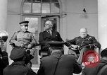 Image of Franklin Roosevelt at Tehran Conference Tehran Iran, 1943, second 17 stock footage video 65675053420