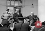 Image of Franklin Roosevelt at Tehran Conference Tehran Iran, 1943, second 18 stock footage video 65675053420