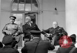 Image of Franklin Roosevelt at Tehran Conference Tehran Iran, 1943, second 20 stock footage video 65675053420