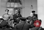 Image of Franklin Roosevelt at Tehran Conference Tehran Iran, 1943, second 24 stock footage video 65675053420