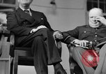 Image of Franklin Roosevelt at Tehran Conference Tehran Iran, 1943, second 27 stock footage video 65675053420