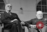 Image of Franklin Roosevelt at Tehran Conference Tehran Iran, 1943, second 31 stock footage video 65675053420