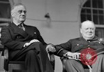 Image of Franklin Roosevelt at Tehran Conference Tehran Iran, 1943, second 34 stock footage video 65675053420