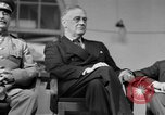 Image of Franklin Roosevelt at Tehran Conference Tehran Iran, 1943, second 36 stock footage video 65675053420