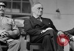 Image of Franklin Roosevelt at Tehran Conference Tehran Iran, 1943, second 37 stock footage video 65675053420