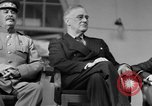 Image of Franklin Roosevelt at Tehran Conference Tehran Iran, 1943, second 39 stock footage video 65675053420