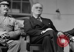 Image of Franklin Roosevelt at Tehran Conference Tehran Iran, 1943, second 40 stock footage video 65675053420