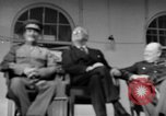 Image of Franklin Roosevelt at Tehran Conference Tehran Iran, 1943, second 48 stock footage video 65675053420