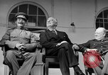 Image of Franklin Roosevelt at Tehran Conference Tehran Iran, 1943, second 49 stock footage video 65675053420