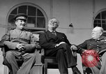 Image of Franklin Roosevelt at Tehran Conference Tehran Iran, 1943, second 51 stock footage video 65675053420