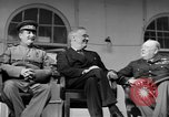 Image of Franklin Roosevelt at Tehran Conference Tehran Iran, 1943, second 52 stock footage video 65675053420