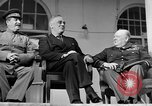 Image of Franklin Roosevelt at Tehran Conference Tehran Iran, 1943, second 53 stock footage video 65675053420
