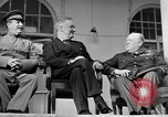 Image of Franklin Roosevelt at Tehran Conference Tehran Iran, 1943, second 54 stock footage video 65675053420
