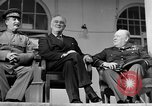 Image of Franklin Roosevelt at Tehran Conference Tehran Iran, 1943, second 55 stock footage video 65675053420
