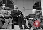 Image of Franklin Roosevelt at Tehran Conference Tehran Iran, 1943, second 58 stock footage video 65675053420