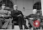 Image of Franklin Roosevelt at Tehran Conference Tehran Iran, 1943, second 60 stock footage video 65675053420