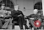 Image of Franklin Roosevelt at Tehran Conference Tehran Iran, 1943, second 61 stock footage video 65675053420