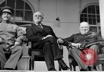 Image of Franklin Roosevelt at Tehran Conference Tehran Iran, 1943, second 62 stock footage video 65675053420