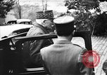 Image of Adolf Hitler shaking hands with Petain in Montoire France, 1940, second 14 stock footage video 65675053449